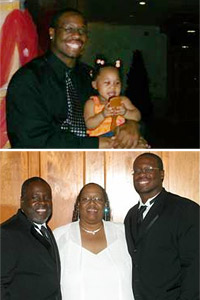 Gerald McCoy and family
