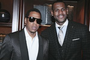 LeBron and Jay-Z