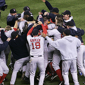 Red Sox Celebrate
