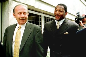 Ray Lewis and Ed Garland