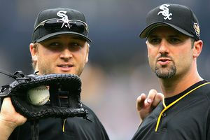 Mark Buehrle and Paul Konerko