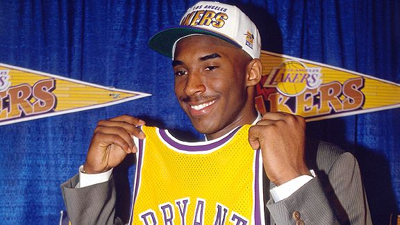 Kobe Bryant Juan Ocampo/NBAE/Getty Images Kobe Bryant was traded from