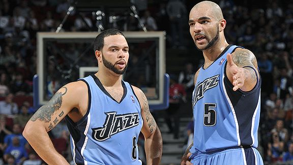 Deron Williams and Carlos Boozer