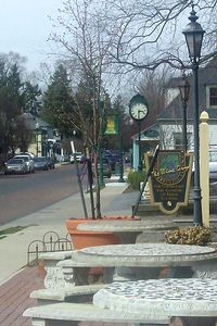 Zionsville town square