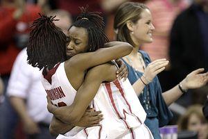 Nyeshia Stevenson and Danielle Robinson