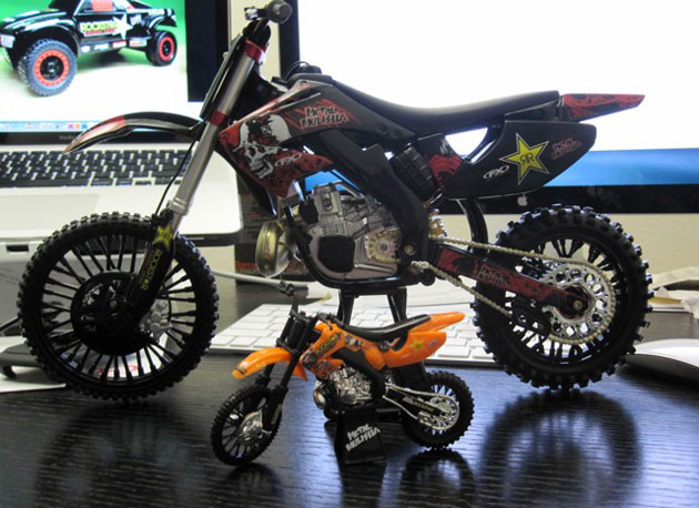 Brian Deegan#39;s Mega Scale bike