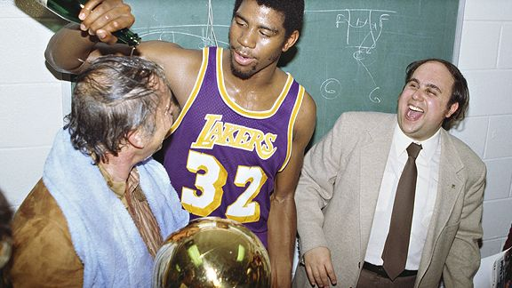 Jerry Buss/Magic