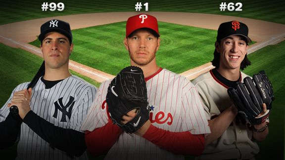 Mark Teixeira, Roy Halladay & Tim Lincecum