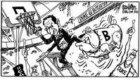 Duke-Butler Cartoon