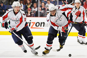 Nicklas Backstrom  and Alex Ovechkin