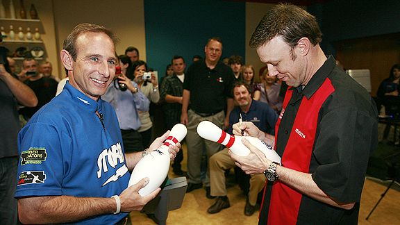 Norm Duke and Matt Kenseth