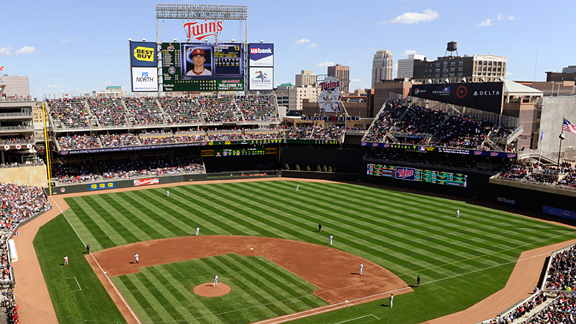 Target Field Seating Chart, Pictures, Directions, and ...