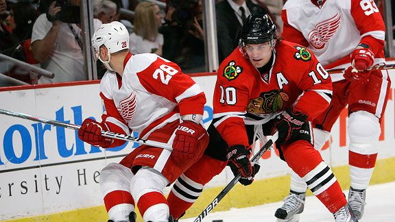 Blackhawks V. Red Wings