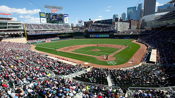 Target Field Is The New Home Of The Minnesota Twins Let S