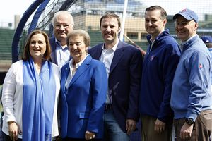 Cubs owners and family