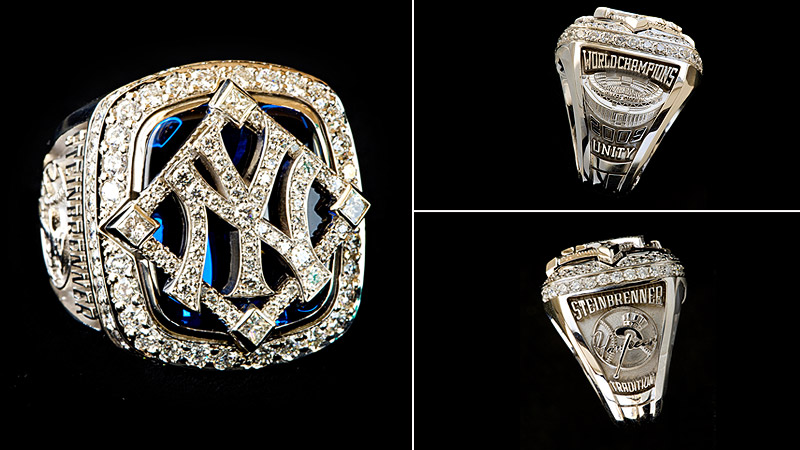 Tradition and unity are the themes of the rings from the Yankees' 2009 ...