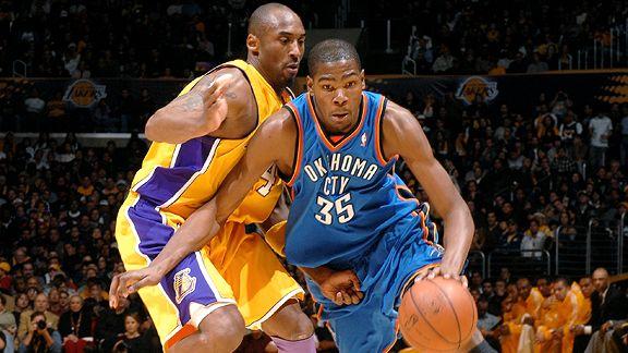 Kevin Durant & Kobe Bryant
