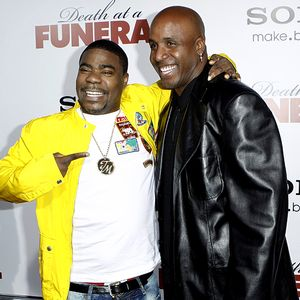 Barry Bonds & Tracy Morgan