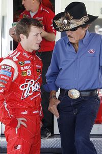 Kasey Kahne and Richard Petty