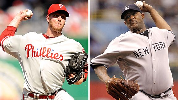 Roy Halladay and CC Sabathia