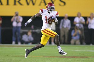 Jeff Golden/Getty Images Southern California receiver Damian Williams