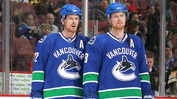 Daniel and Henrik Sedin