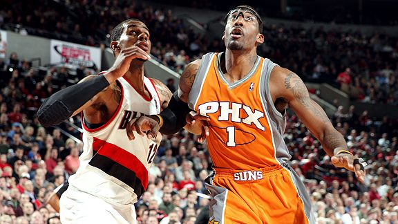 Amare Stoudemire and LaMarcus Aldridge