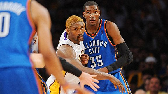 Kevin Durant & Ron Artest