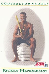 Rickey Henderson card