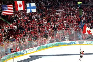 Olympic Hockey Flags