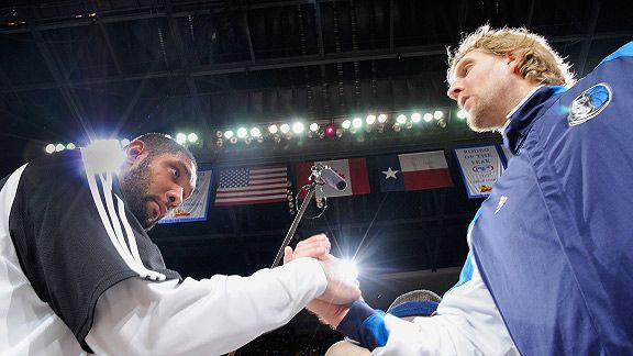 Dirk Nowitzki & Tim Duncan