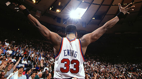 Patrick Ewing in 1994 at Madison Square Garden.
