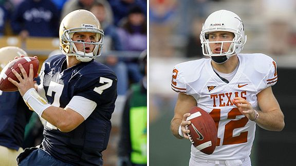 Jimmy Clausen/Colt McCoy