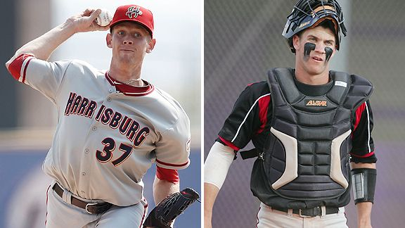 Stephen Strasburg and Bryce Harper