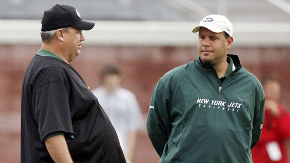Mike Tannenbaum and Rex Ryan