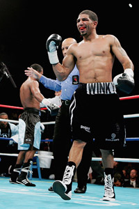 Winky Wright and Shane Mosley