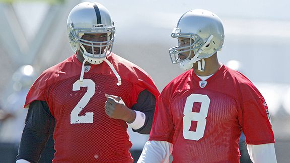 JaMarcus Russell and Jason Campbell