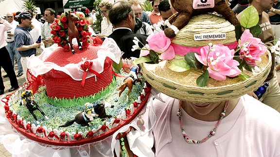 Women Take Pride In Their Hats At The Kentucky Derby Page 2 Espn