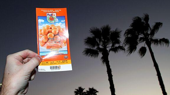 Orange Bowl Ticket