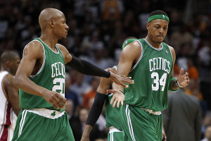 Paul Pierce & Ray Allen
