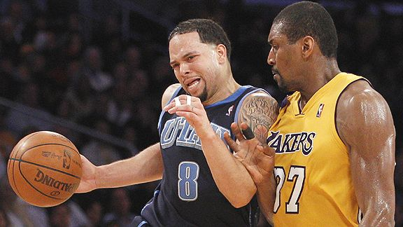 Ron Artest and Deron Williams