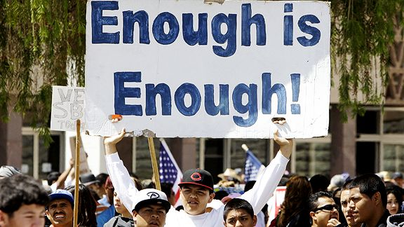 'Enough Is Enough' Sign