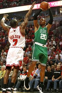 Ray Allen and Ben Gordon