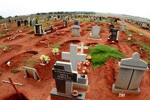 Eudy Simelane's grave