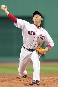 Daisuke Matsuzaka's strikeout rate has fallen each of the past four years.