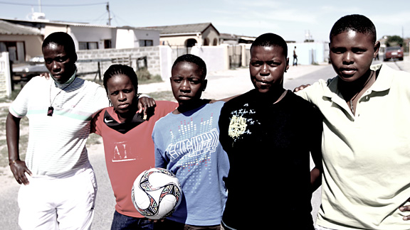 Soccer team for Luleki Sizwe