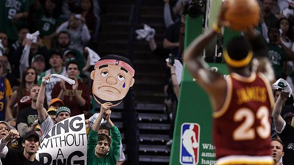 Cavs vs Celtics 2010 Playoffs