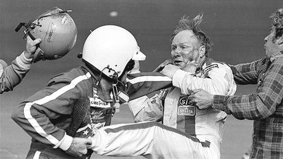 Bobby Allison and Cale Yarborough