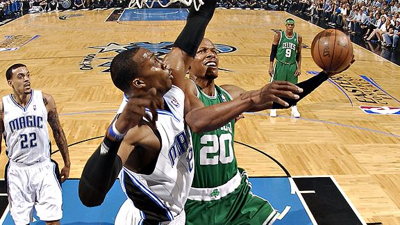 Dwight Howard and Ray Allen