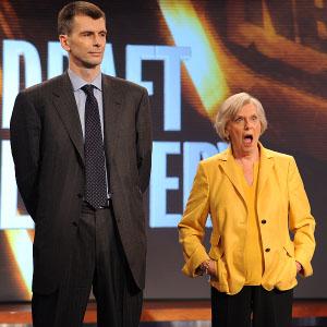 Mikhail Prokhorov and Irene Pollin
